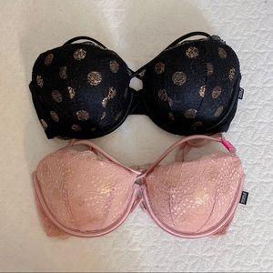 👙BUNDLE Victoria's Secret Push Up Bra